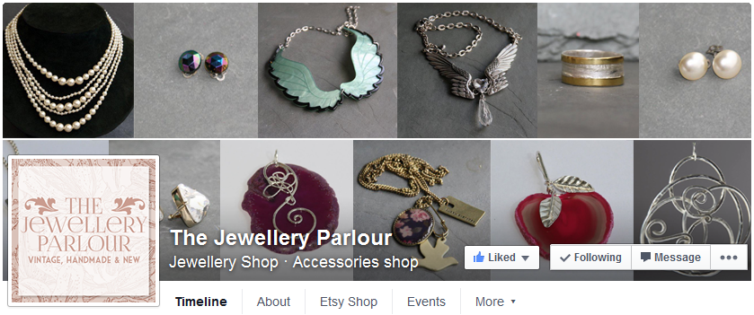 The Jewellery Parlour Facebook page