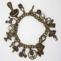 Morecambe, Pam Bradley, Pumjum, Jewellery, vintage, handmade, cumbria, retro, costume jewellery, The Jewllery parlour, lancashire, steampunk, bracelet, handmade, charm