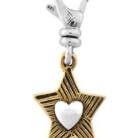 Silpada Star at Heart Charm, Morecambe, Pam Bradley, Pumjum, Jewellery, vintage, handmade, cumbria, retro, costume jewellery, The Jewllery parlour, lancashire, charm, silpada, star at heart