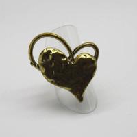 Morecambe, Pam Bradley, Pumjum, Jewellery, vintage, handmade, cumbria, retro, costume jewellery, The Jewllery parlour, lancashire, ring, heart, goldtone, adjustable