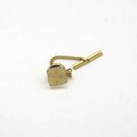 Morecambe, Pam Bradley, Pumjum, Jewellery, vintage, handmade, cumbria, retro, costume jewellery, The Jewllery parlour, lancashire, vintage, tie pin, engraved, goldtone