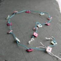 Glasses Holder Necklace handmade, Morecambe, Pam Bradley, handmade, vintage, new, jewellery, cumbria, Lancashire