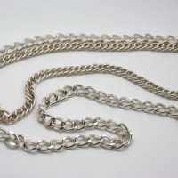 Gold-tone double strand chain necklace, Morecambe, Lancashire, Cumbria, Pam Bradley, The Jewellery Parlour, Pumjum, necklace, chain
