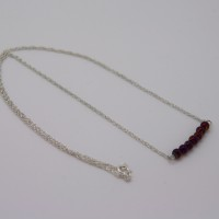 purple pyrite necklace, the jewellery parlour, pam bradley, morecambe, lancashire, cumbria, pyrtire, sterling silver, silver,