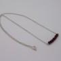 purple pyrite necklace, the jewellery parlour, pam bradley, morecambe, lancashire, cumbria, pyrtire, sterling silver, silver,