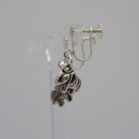 little nellie earrings, children, screwback,elephant,earrings,the jewellery parlour,pam bradley,morecambe,handmade,lancashire,cumbria